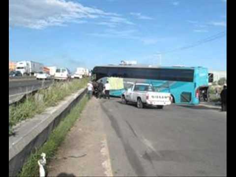 Accidentes de autobuses en México parte 5