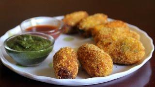 Mawa Subz Bullets (Mixed Vegetable Khoya Croquettes)  Recipe