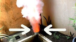 POTASSIUM NITRATE (KNO3)+ FIRE EXPERIMENT #84