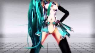 getlinkyoutube.com-【MMD】Cyber Thunder Cider 【RQ Miku 2013 Digitrevx】