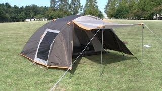 getlinkyoutube.com-ツーリングテント ケルマ テント設営  Tent for touring