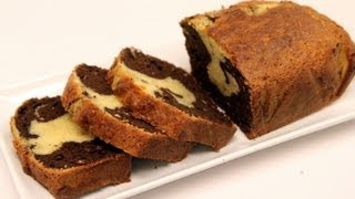 getlinkyoutube.com-Marble Cake Recipe - Super Moist! - CookingWithAlia - Episode 235