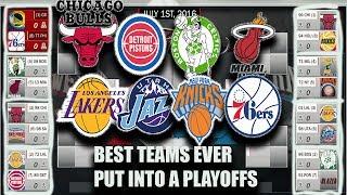 NBA2k ThrowBack sim with best teams!