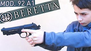 getlinkyoutube.com-FULLY AUTOMATIC BB GUN - Beretta 92 A1 with Robert-Andre