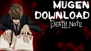 getlinkyoutube.com-DEATH NOTE M.U.G.E.N 2014