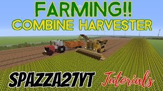 getlinkyoutube.com-Combine Harvester Minecraft tutorial
