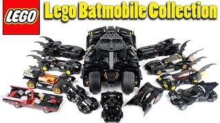 getlinkyoutube.com-Lego Batmobile Collection Showcase / Highlight April 2016 Update!