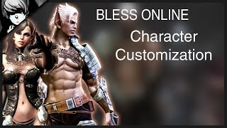 getlinkyoutube.com-Bless Online - Character Customization, Classes & Races
