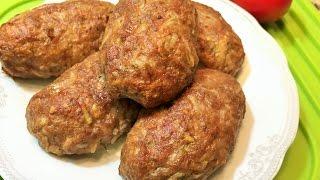 getlinkyoutube.com-ДОМАШНИЕ КОТЛЕТЫ В ДУХОВКЕ.  Мягкие, сочные, аппетитные!  (Homemade Вurgers in the oven)