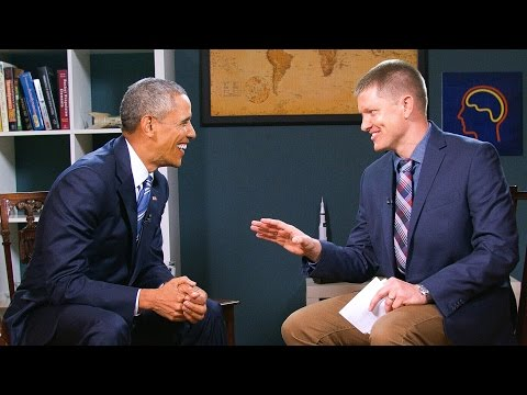 What I learned from President Obama - Smarter Every Day 151