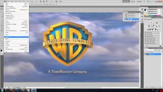getlinkyoutube.com-WarnerBros Logo Tutorial - Cinema 4D - Photoshop [HD]