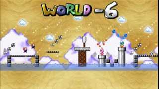 getlinkyoutube.com-Mario Forever - World Minus 6 by Crist1919 Walkthrough [HD]