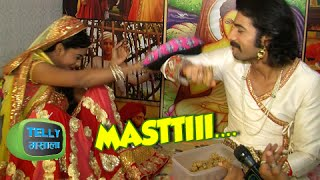 getlinkyoutube.com-Fun Chat Of Rachana Parulkar & Sharad Malhotra | Behind The Scenes | Maharana Pratap