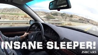 Savage Sleeper V8 E39 Pulls and Hooning
