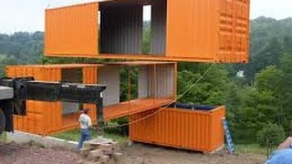 getlinkyoutube.com-The 100 Most Amazing Shipping Container Homes