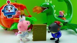 getlinkyoutube.com-Cuento del Dragón Volador y la Calabaza de Peppa Pig - Juguetes de Peppa Pig