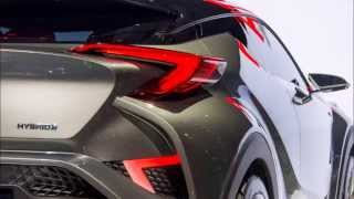 getlinkyoutube.com-トヨタ C-HRコンセプト…市販間近の小型SUV