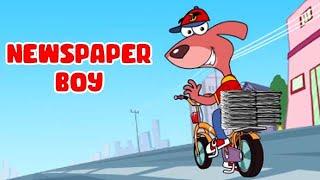 getlinkyoutube.com-Rat-A-Tat | Chotoonz Kids Funny Cartoon Videos | 'News Paper Boy Don'