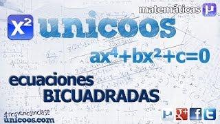 Imagen en miniatura para Ecuación bicuadrada