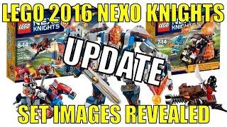 getlinkyoutube.com-LEGO 2016 NEXO KNIGHTS OFFICIAL SET IMAGES REVEALED UPDATE