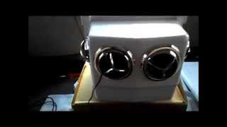 getlinkyoutube.com-12 Volt Portable A/C MightyKool MK4 Running a home Air conditioner in your Van The truth