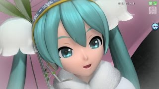 getlinkyoutube.com-【PDA-FT PV】ふたりで。【雪ミク2015】(720p/60fps)