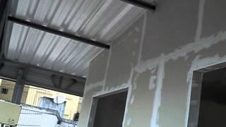 getlinkyoutube.com-casa de gesso  acartonado(drywall) é com a Gesso Seabra feita em varginha