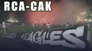 getlinkyoutube.com-Curva Sud Magana : Ambiance & Craquage du match Raja vs Cak (Ultras Eagles)