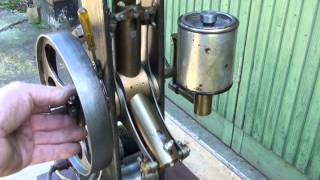 getlinkyoutube.com-3 Cylinder Two stroke Radial Engine with rotating Cylinders