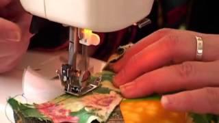 getlinkyoutube.com-Лоскутное шитье для начинающих. Сумасшедший квилт