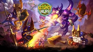 getlinkyoutube.com-Legacy Hero CBT Gameplay IOS / Android