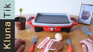getlinkyoutube.com-Kluna FAILED cooking class today!!! Kluna Tik Dinner #32 | ASMR eating sounds no talk