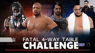 WWE 2K17 Table Match Challenge #6
