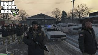 getlinkyoutube.com-GTA 5 PC Mods - PLAY AS A COP MOD! GTA 5 SAPDFR/LSPDFR Police Mod Gameplay 4! (NORTH YANKTON PATROL)