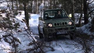 getlinkyoutube.com-Suzuki Jimny 1,3 MT - test PGD