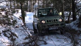 Suzuki Jimny 1,3 MT - test PGD