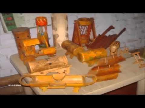 artesanias en guadua y bambu #1