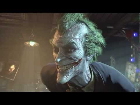 Batman Arkham City | OFFICIAL JOKER trailer (2011)