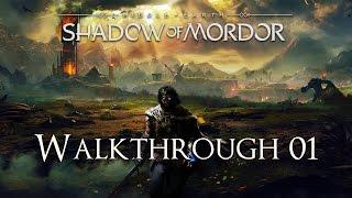 getlinkyoutube.com-Middle Earth: Shadow of Mordor 100% Walkthrough 01 (Prologue)