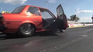 Nyce1s -  Bigboy 2JZ Toyota Corolla Testing At E-Town....