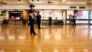 Cowboy Rhythm ( Line Dance ) Walkthrough.wmv