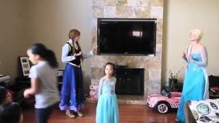 getlinkyoutube.com-Aileen 6th Birthday - Frozen