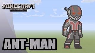 getlinkyoutube.com-Minecraft: Pixel Art Tutorial and Showcase: Ant-Man