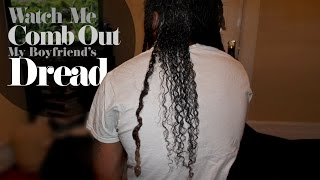 getlinkyoutube.com-Combing Out Dreads Without Cutting