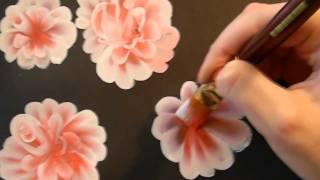 getlinkyoutube.com-КАК научиться РИСОВАТЬ. РИСУЕМ очень красивые ЦВЕТЫ.