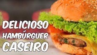 getlinkyoutube.com-Delicioso, fácil e saudável: faça hambúrguer em casa (receita)