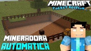 getlinkyoutube.com-Mineradora automática mod para Minecraft Pocket editon 0.12.2