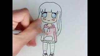 getlinkyoutube.com-Como dibujar chibi anime