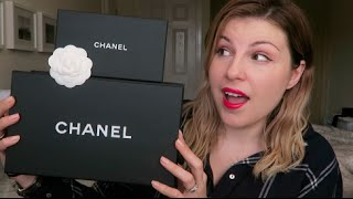 getlinkyoutube.com-My First Chanel / Unboxing / Heathrow Experience
