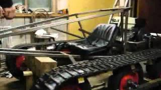 """getlinkyoutube.com-Tracked vehicle """"TelaKart"""" testing..."""